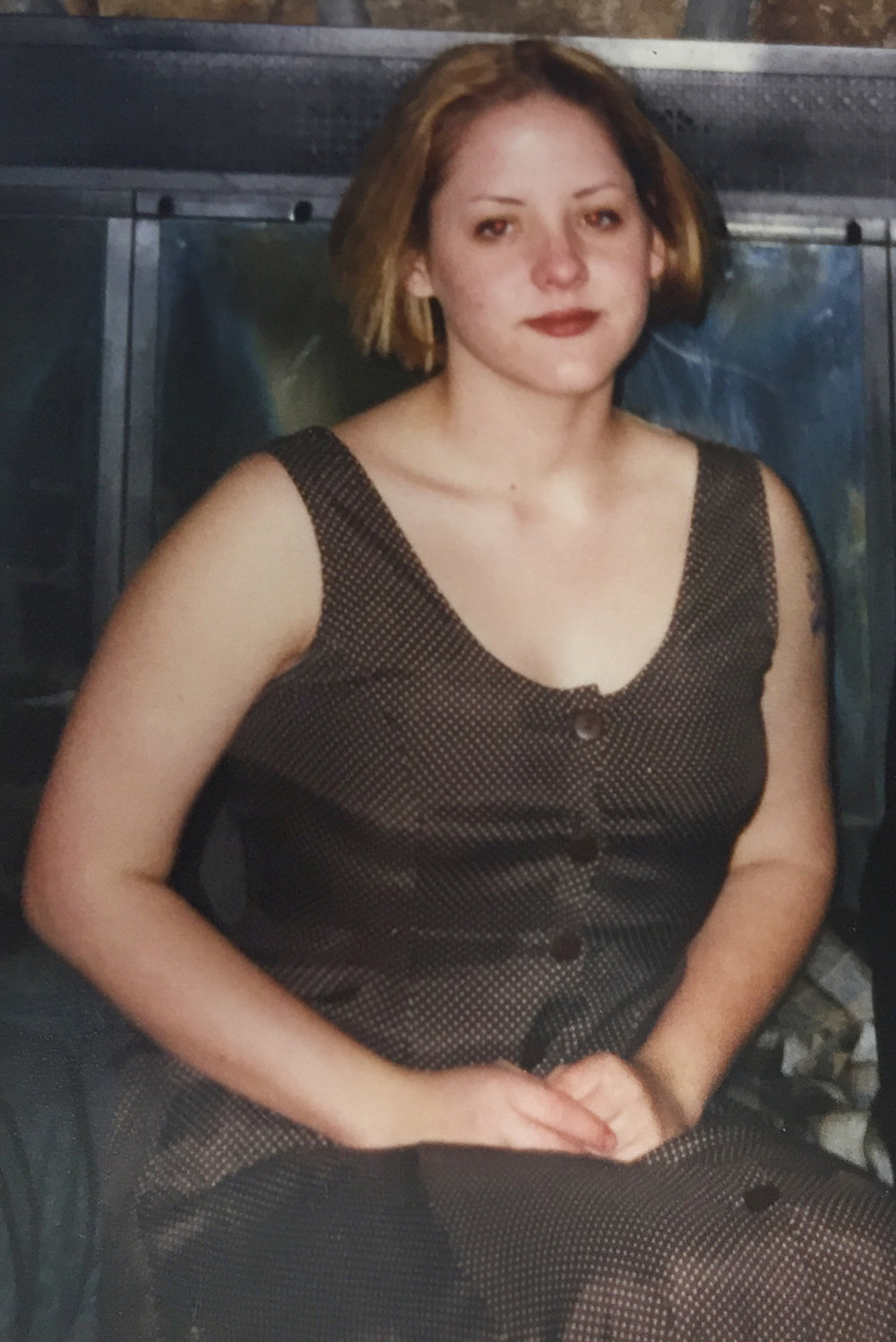 Teenage Kirsten. This photo was taken shortly after the rapes.
