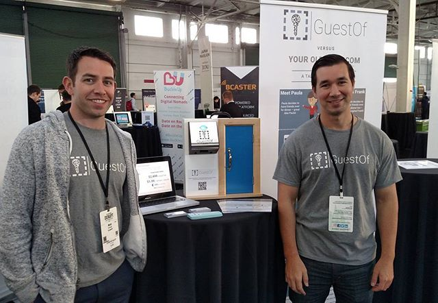 Demo day! Come find us and vote for us for the Wild Card at #TCDisrupt #DisruptSF