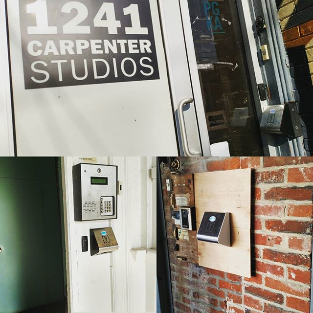 Now #1241carpenterstudios co-working tenants can get into the building using their phone - no more tracking down key fobs.