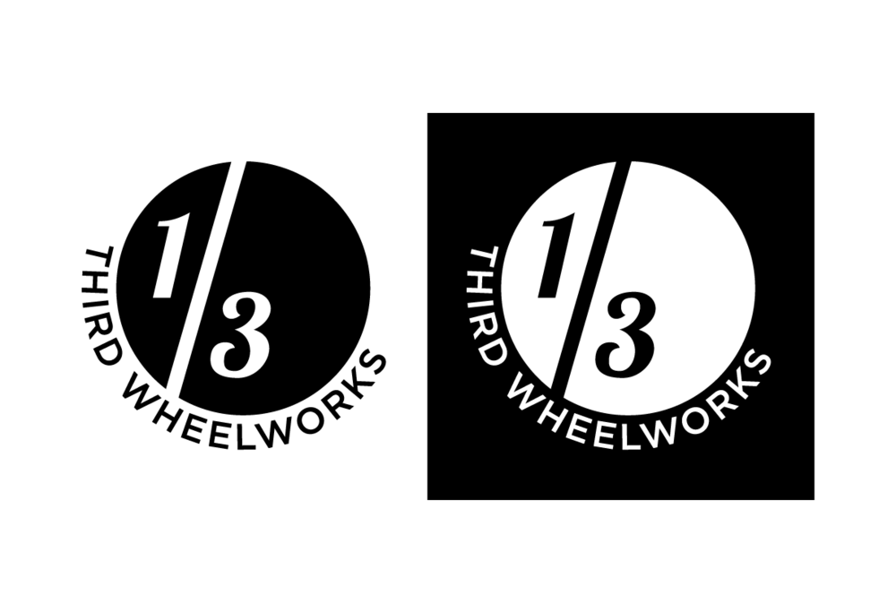 Logo for a Toronto bicycle wheel building company.  2015.