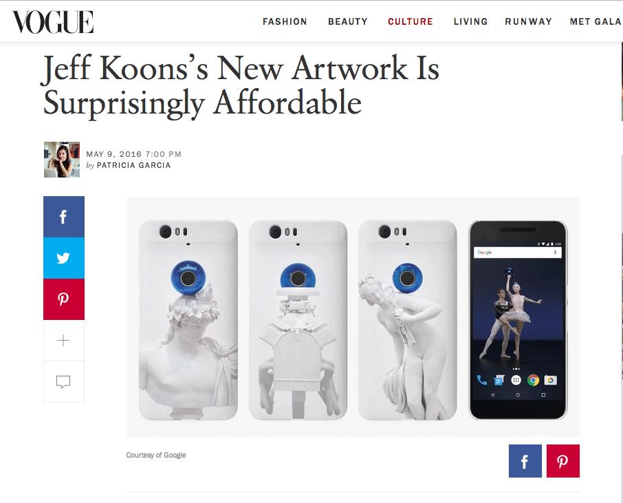Vogue Koons