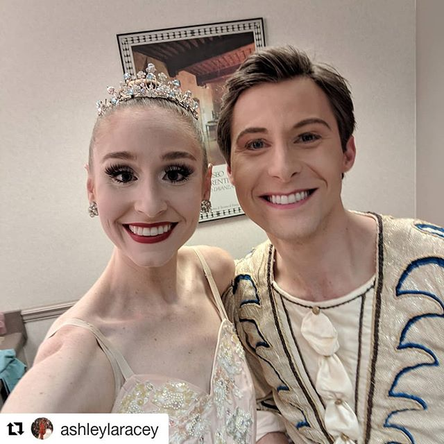 Three more shows this weekend! It was a dream getting to dance with my Sugarplum @ashleylaracey for the first time last night.  #Repost @ashleylaracey (@get_repost) ・・・ First show done! CONGRATULATIONS to all the dancers @tuscaloosacommunitydancers and @troymacher for a beautiful first show! Three more to go! #dancingcouple #nutcracking #tuscaloosa @bamatheatre #tuscaloosaalabama #nutpasselfie #mostcomfycostumeever