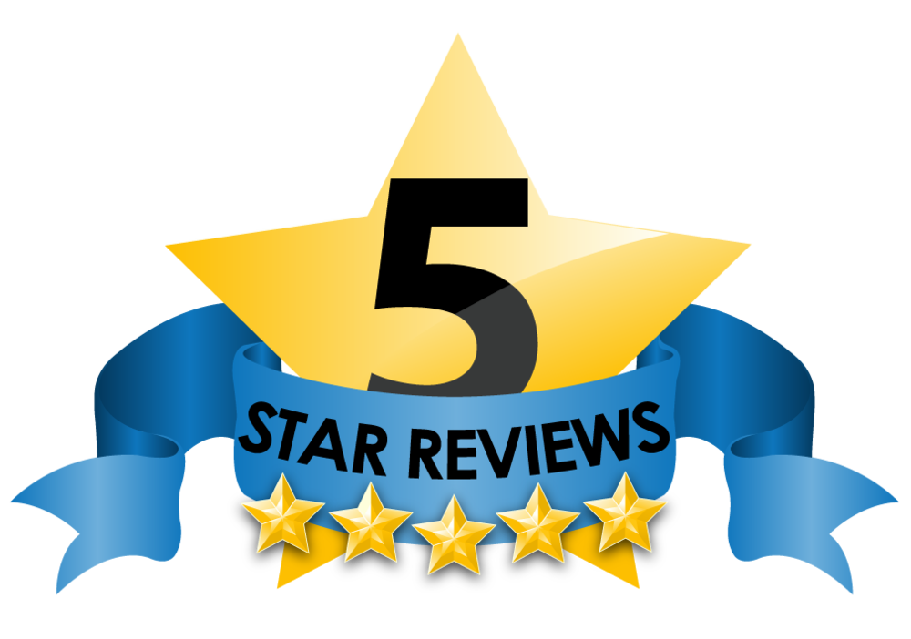 We score 5 out of 5 on facebook reviews!