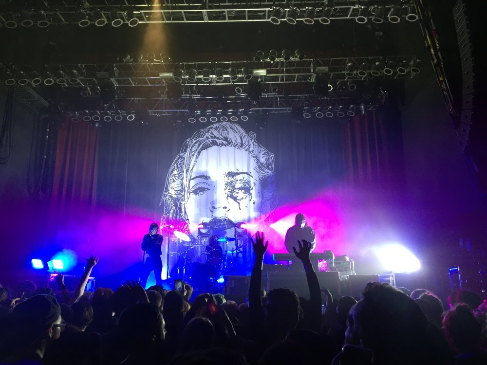Crystal Castles at House of Blues Dallas (my photo)