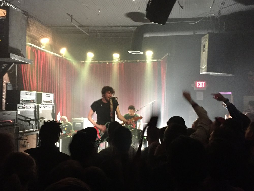 Japandroids at Club Dada (my photo)