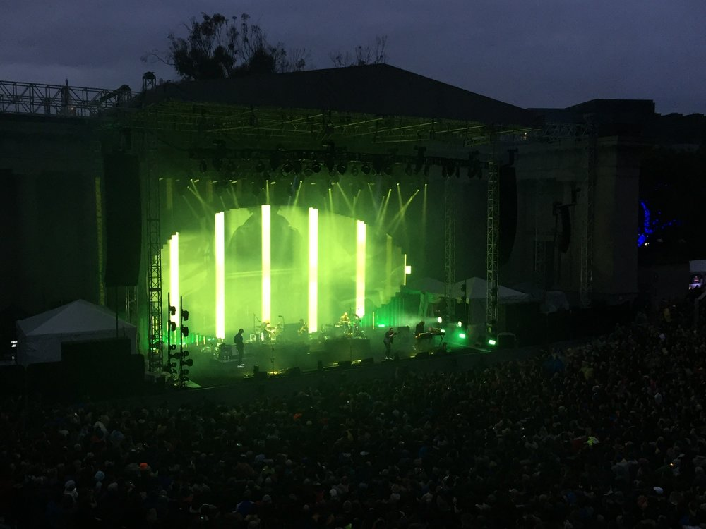 Radiohead at The Greek Theatre - Berkeley (my photo)