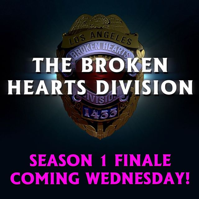 Only 2 more days until the identity of our serial dater is revealed in the Broken Hearts Division Season 1 finale! 🕵🏼 #serialdater #lovecrime #brokenheartsdivision . . . . . . #finale #instahumor #instalaugh #instalaughs #webseries #comedyshow #comedylife #comedycentral #absurd  #comedyposts #comedypics #comedygold #comedymemes #comedywomen #cop #tvseries #valentinesday2018 #ifc #lovecrime #relationshipcoach #relationshiprules #relationshipadvice #relationship101 #crime #crimescene #lapd