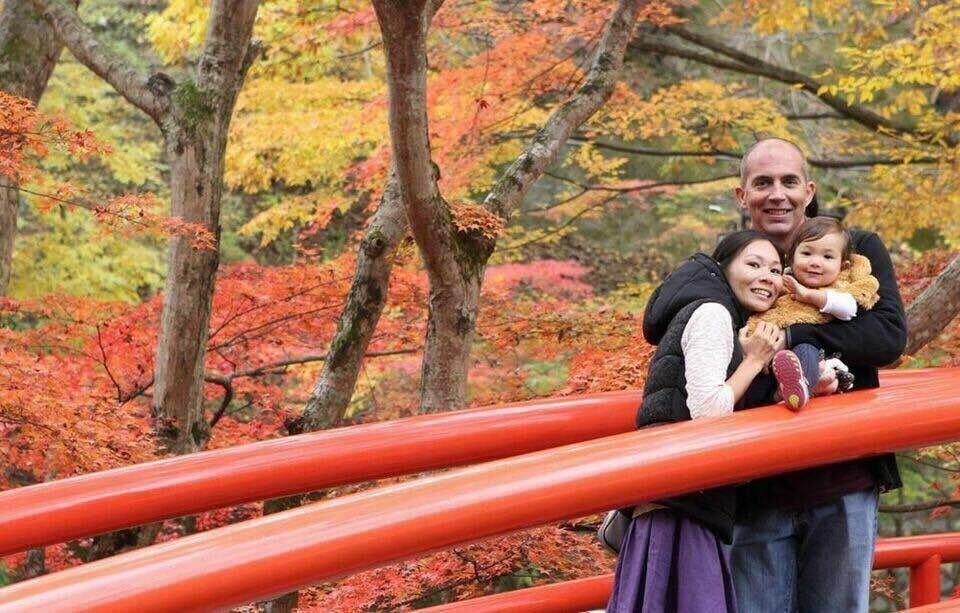 Kajika Bashi, Ikaho, Gunma, Japan. Fall 2015