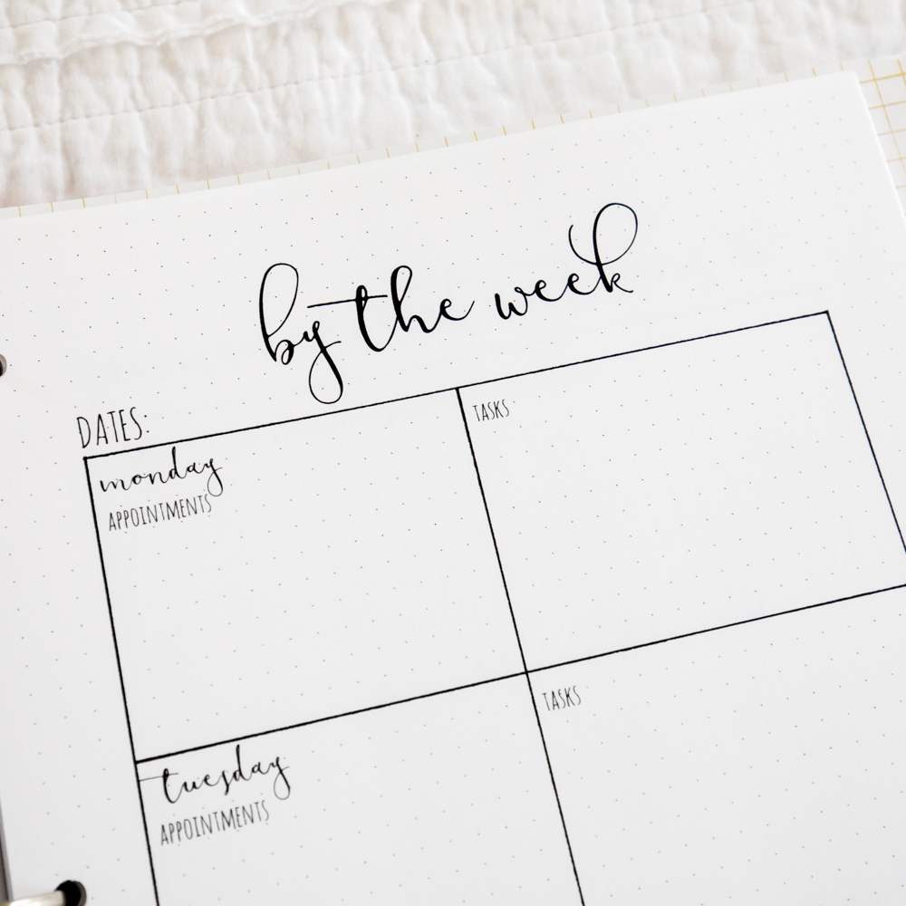 The Intention-Based Planner, printable