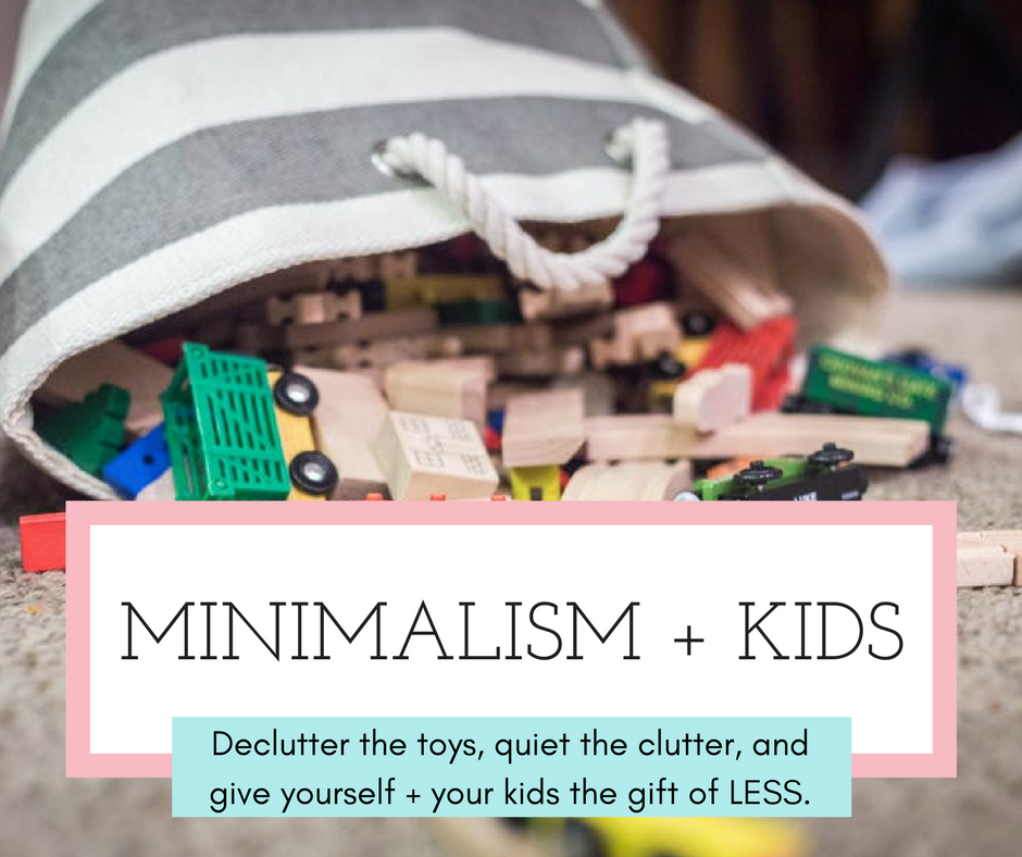 minimalism kids toys playing impact webinar workshop class online