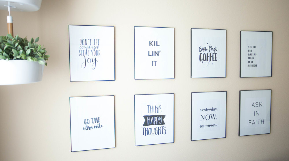 How To Make Your Own Modern Wall Printables Allie Casazza