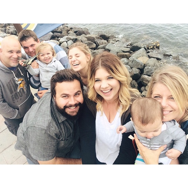 Our family in California, who we missed so much.
