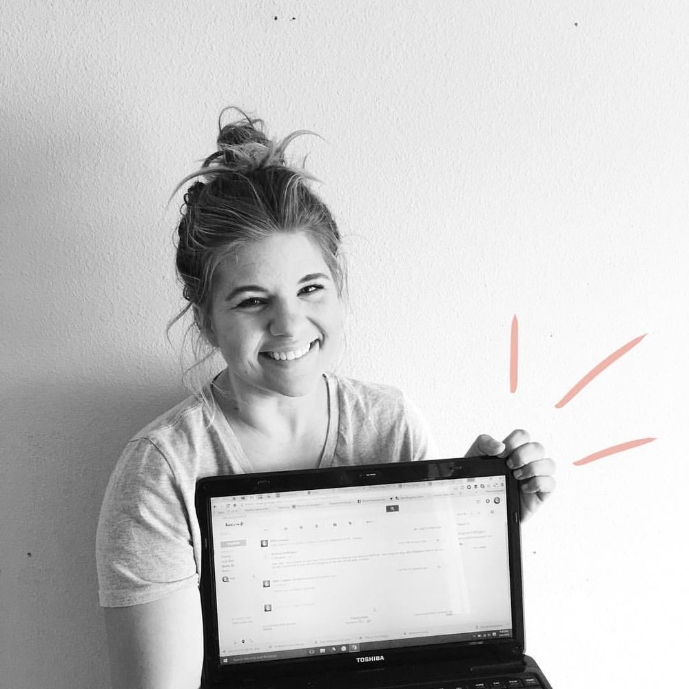Brian snapped this pic of me the day I got an email from Ariana Huffington, inviting me to contribute to The Huffington Post Parents and letting me know I was a very good writer. SUCH a good day!