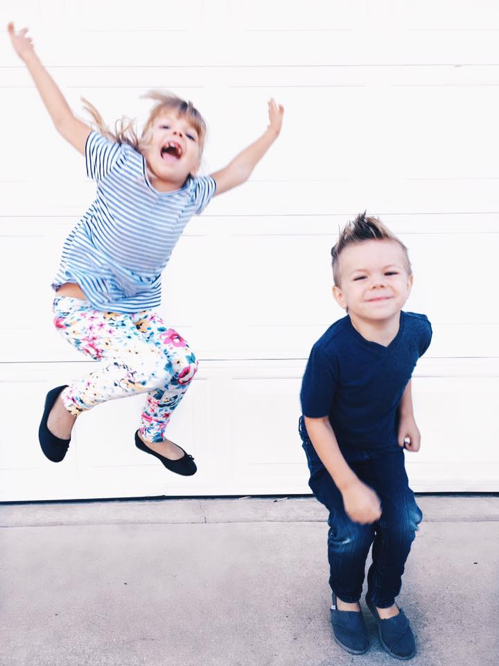 This picture was taken by me just a couple days after everything happened. We'd just gone to Old Navy and bought our kids a ton of new clothes, which they needed so so badly. Such a happy time!