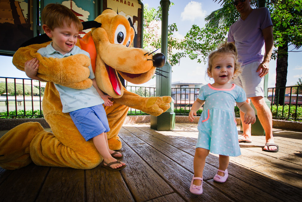 Favorite frames pluto at the port of entry world showcase epcot pluto meet and greet world showcase disney vacation photographer m4hsunfo