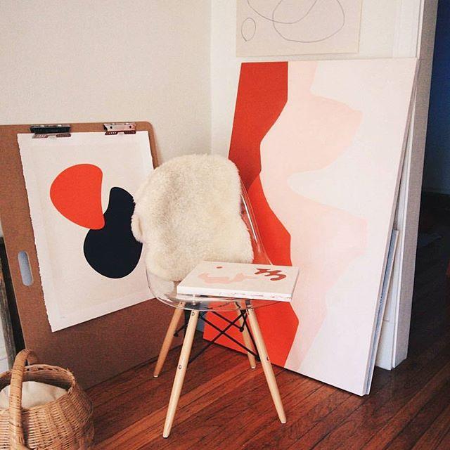 Studio corners. #cantikcollective @acaseoftheshapes