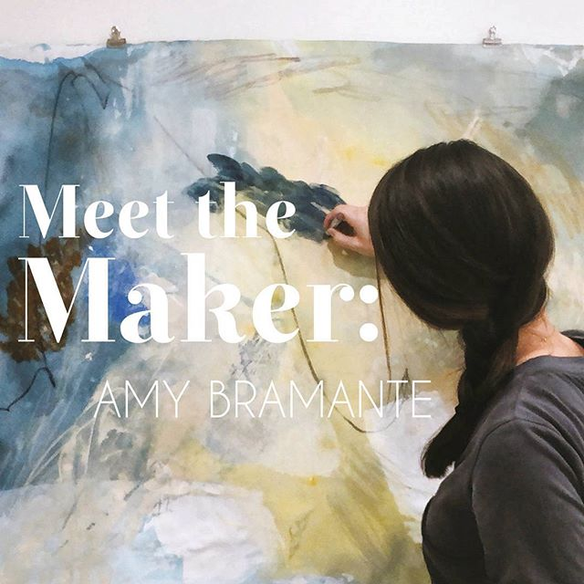 New Meet the Maker up on the blog! Had fun picking @amy_bramante 's brain, so be sure to pop over and read about this rad chick and her work. #cantikcollective