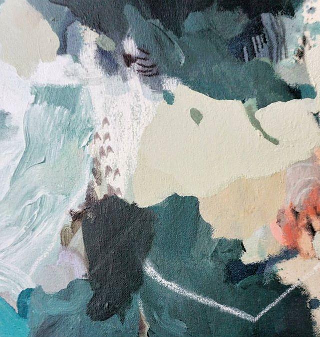 Textures you could swim in. #cantikcollective 📷: @sarahdelaneyart