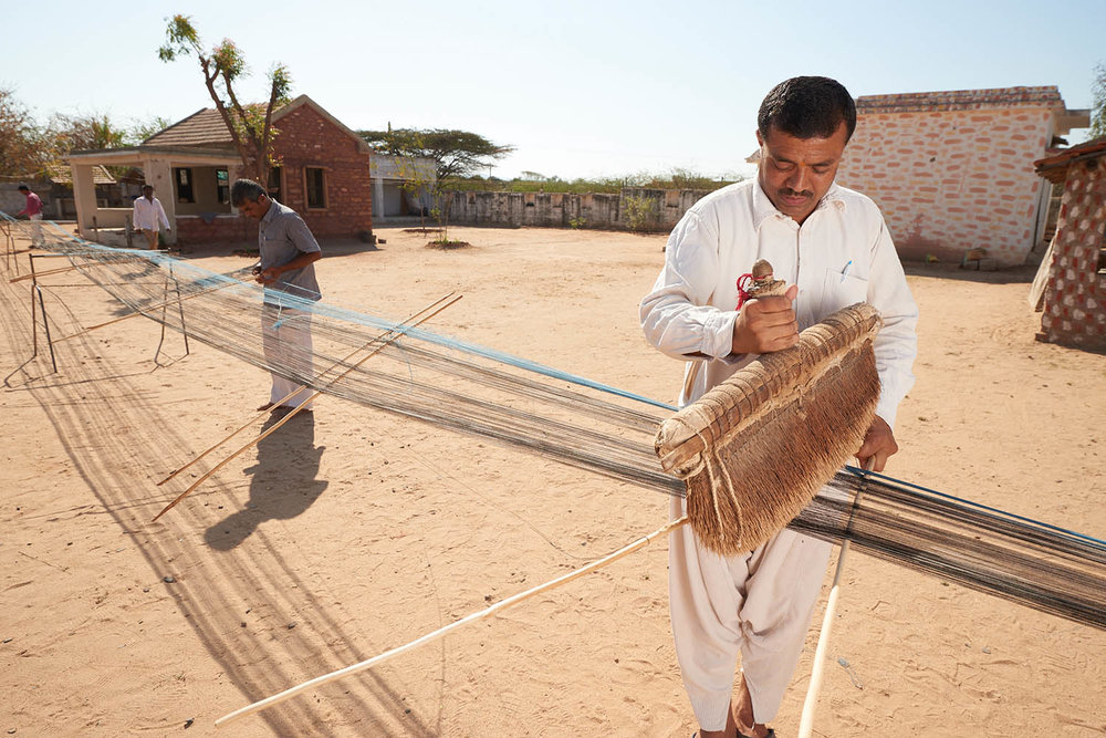 Dyeing & Weaving From the Kachchh Desert