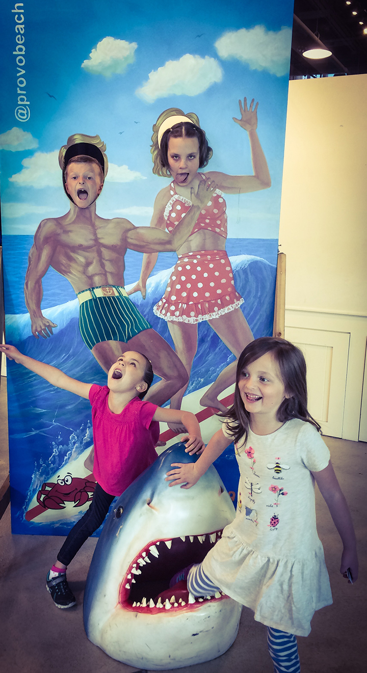 We spent a whole Saturday with the Marvel's. We went to Provo Beach Resort, Pizza Pie Cafe and then the kids played together the rest of the day. We love this family.