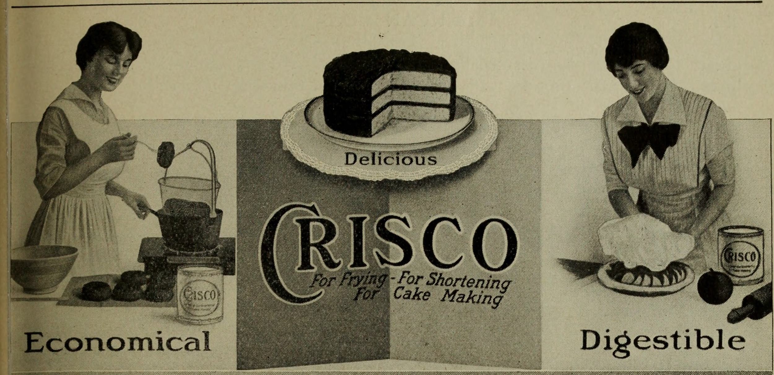 Crisco Ad Trans Fats Fertility Nutrition