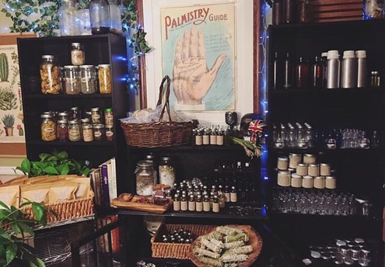 Shop the Apothecary - Herbs, Intent Oils, Charged Soaks & More…