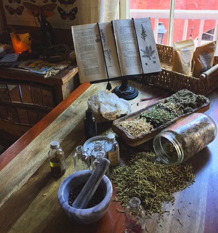 Browse the Apothecary - Herbs. Authentic Intention Oils. Magickal Items.