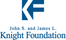 John S. and James L. Knight Foundation logo