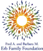 Fred A. and Barbara M. Erb Family Foundation logo