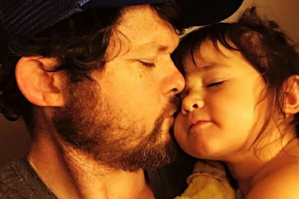 Chris and his daughter June
