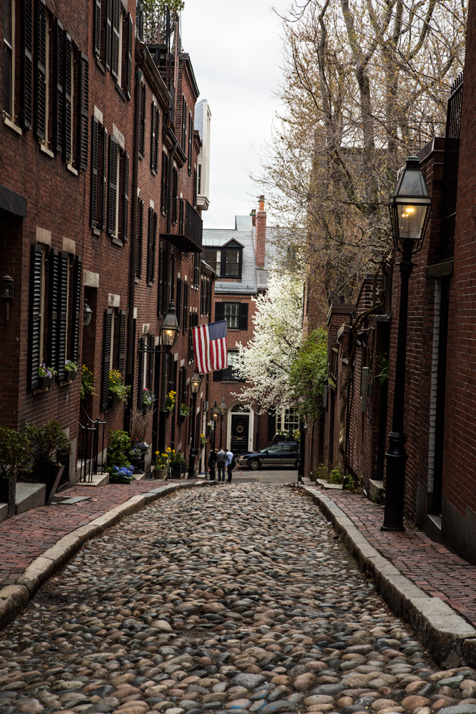 Travel Photography Streets of Boston