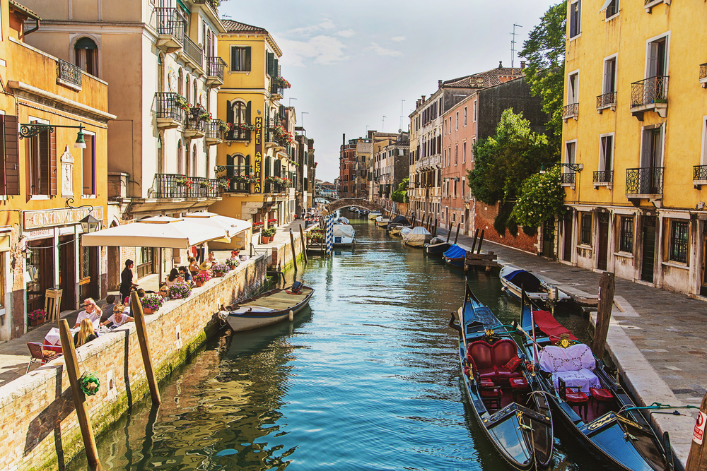 Travel Photography Canals of Venice