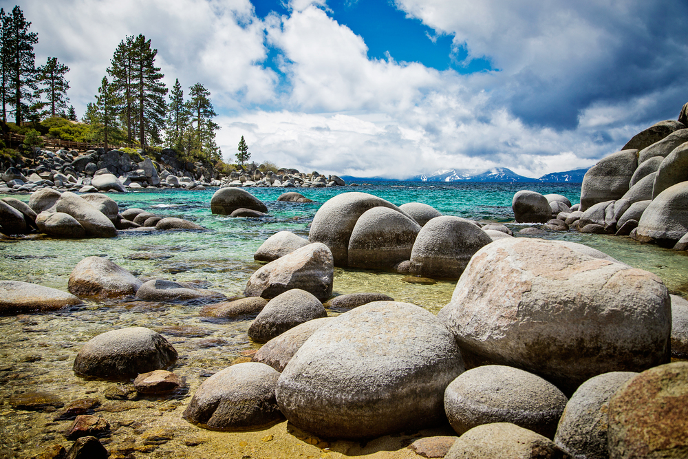 Travel Photography Lake Tahoe Rocks