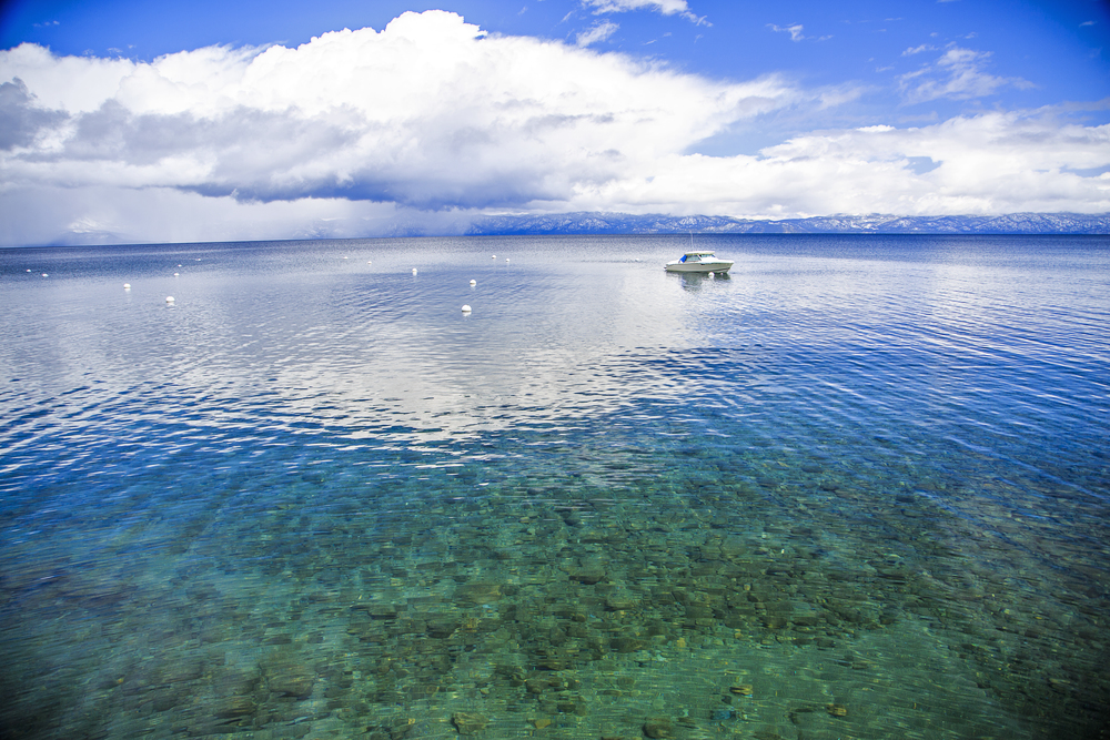 Travel Photography Lake Tahoe Reflection