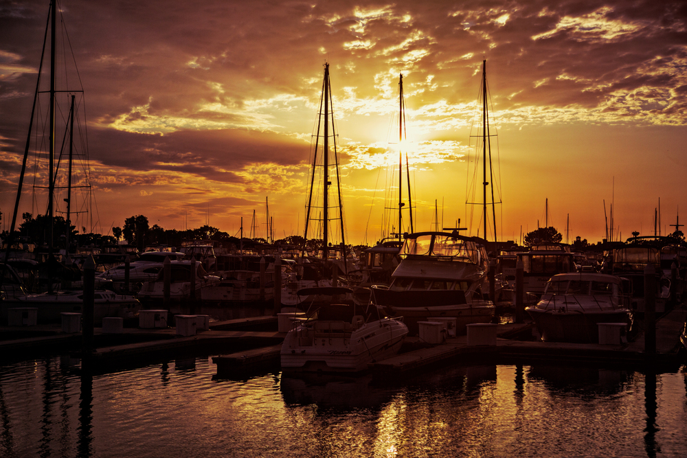 Travel Photography San Diego Boats