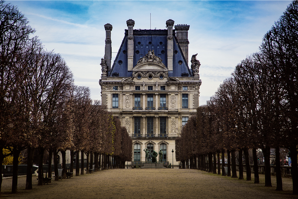 Travel Photography Paris Mansion