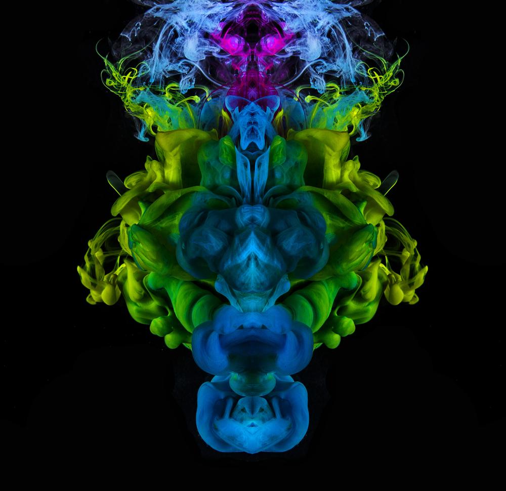Underwater Ink Rorschach