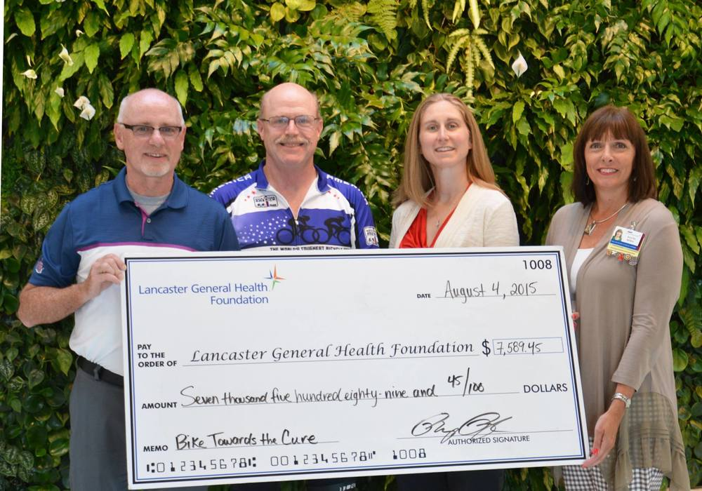 Lancaster General Health Cancer Support Fund - directly supporting Lancaster families!