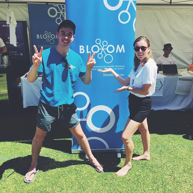 Have an amazing idea you want to take to the next level? Passionate about entrepreneurship? Interested in starting your own business? Find out how Bloom can help you at UWA O-Day today! 👍🏼