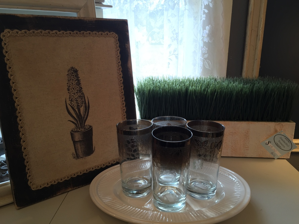 5. Textured pictures and have them in various sizes and styles throughout the shop! And of course we love our greens!