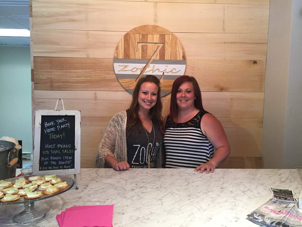 Owner, Megan and business partner Becky