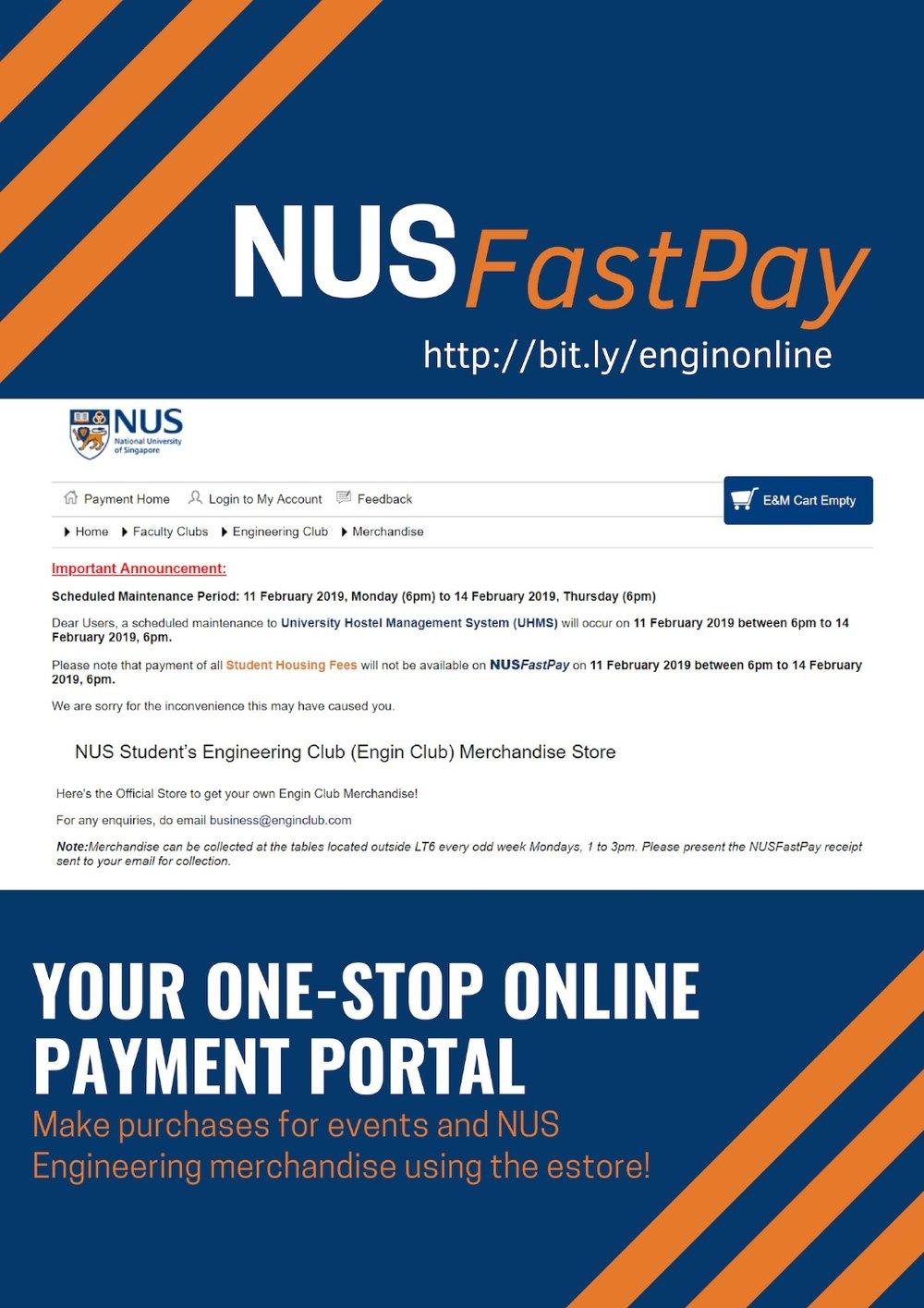 NUS FastPay