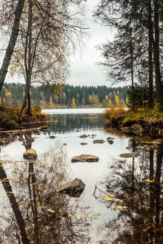 Lake Sognsvann, Oslo.