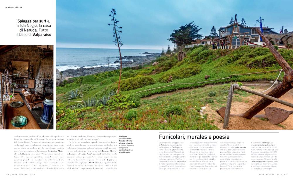 reportage on santiago