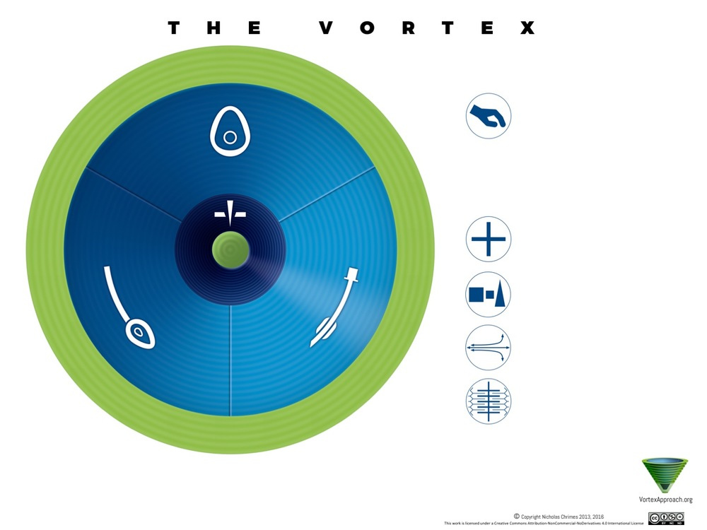 Vortex implementation tool - international edition. User license allows annotation with translation of text on English version into any language (RIght click to download)