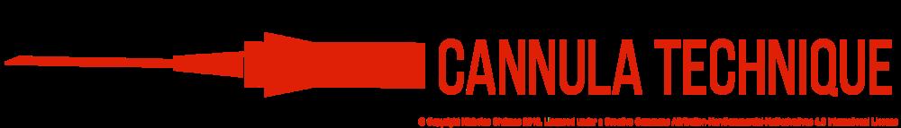 Cannula Technique Icon (Right click to download)