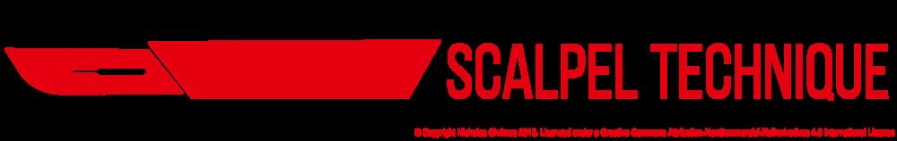 Scalpel Technique Icon (Right click to download)