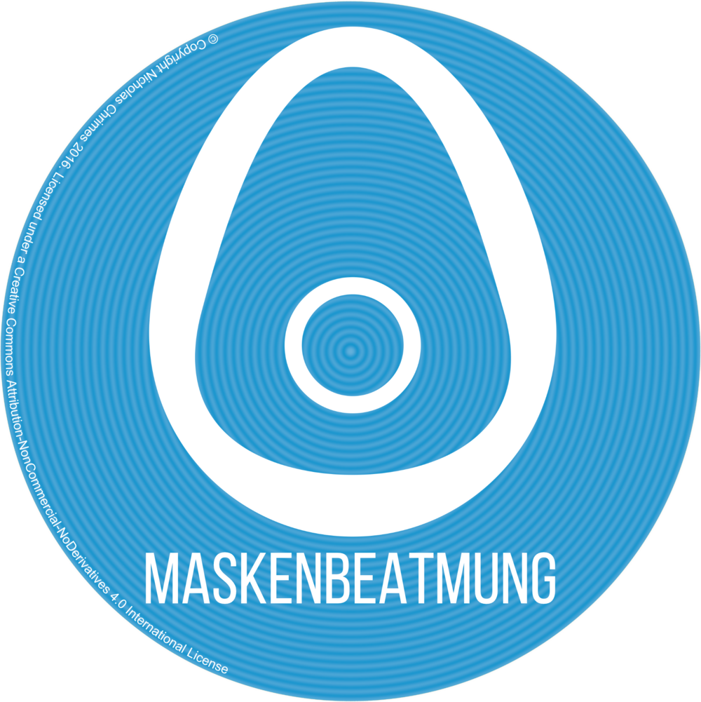 Face Mask Icon - German Version