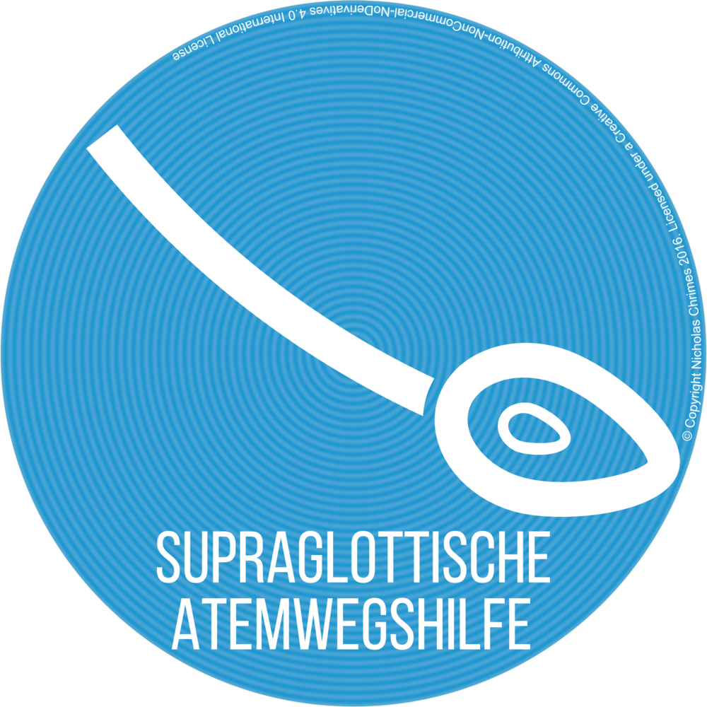 Supraglottic Airway Icon - German Version