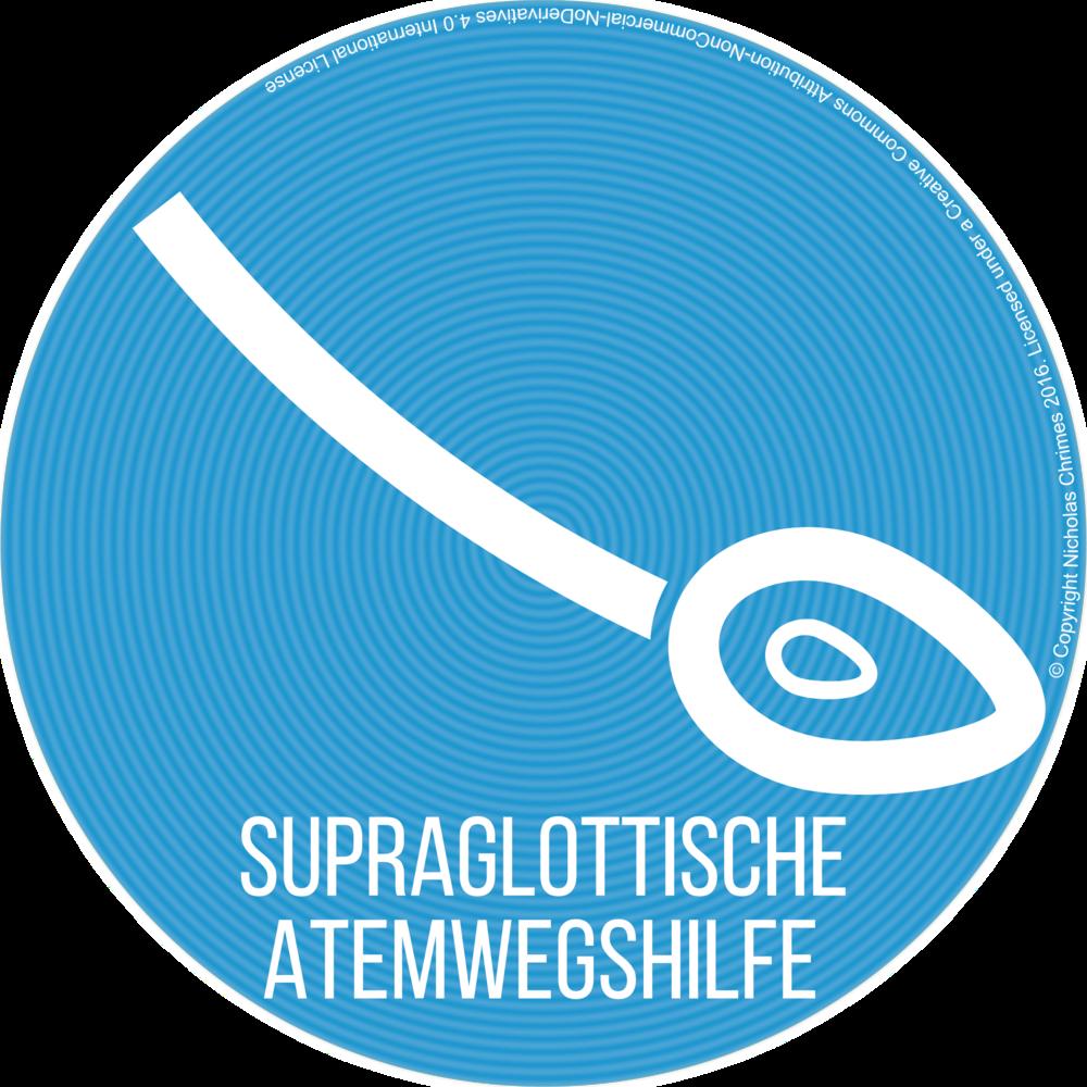 Supraglottic Airway Icon - German Version (Right click to download)